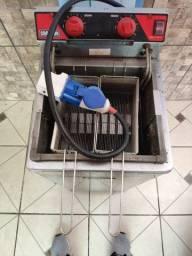 Fritadeira elétrica 8000W água e óleo FA28 croydon - oportunidade