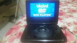 Dvd player portatil  vinici