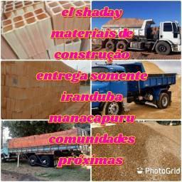 El shaday verda de materiais de construção