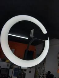 Ring Light com tripé