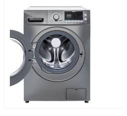 VENDO Lava e Seca Midea LSE10X1 Storm Wash Inverter 10,2kg Grafite Metálico 127V