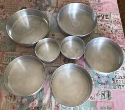 Conjunto formas alumínio