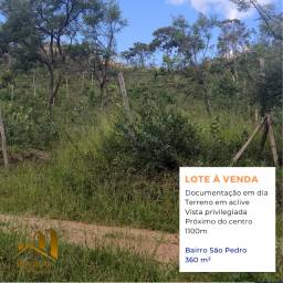 Lote / Terreno de 360 m² em área central de Diamantina