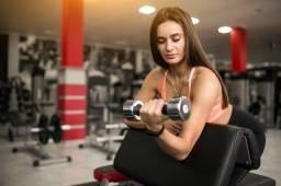 Vaga feminina estágio musculação