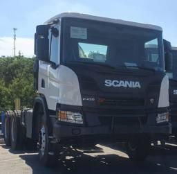 Alugo Caminhão Scania P450 XT Freio Retarder Báscula 16m3 2021/21