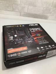 Placa mãe Asus B450M Gaming