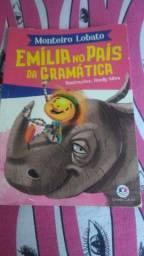 vendo livro emília no país da gramatica