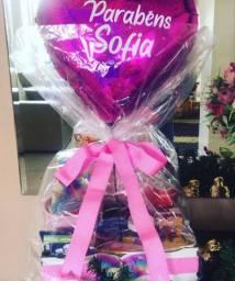 Promoção de presentes para pessoa amada (Cestas e floricultura)