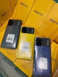 XIAOMI POCO M3 128GB 6000mAh bateria lacrados de fábrica