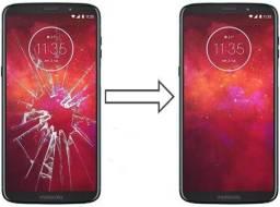 Vidro da Tela para Moto Z3 Play xt1929 , Mantenha a Originalidade do seu Estimado Celular!