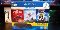 Playstation 4 novo lacrado com nota fiscal e garantia