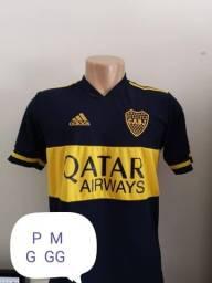 Camisas de time 1 linha nacional disponível só tamanho G
