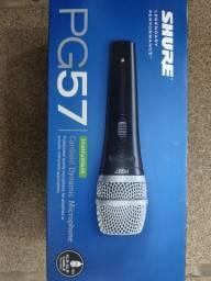 Microfone shure PG 57 novo na caixa original