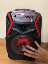 Caixa de som kimiso amplificada 1000 W de potência