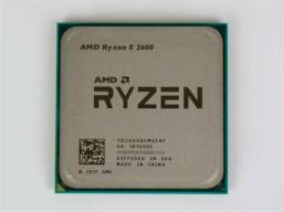 Processador AMD Ryzen 5 2600 3.4GHz (3.9GHz Turbo), 6-Cores 12-Thread