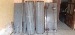 Porta rolar (3m x 2,7m)- 2 bandas de 1,5m - Comércio - R$ 1200,00