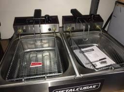 Fritador 2 Cubas (100mm) - 6 Litros - Metalcubas - Matheus