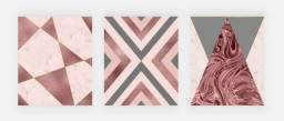 Kit Quadros / Placas Decorativa 29x41cm cada quadro