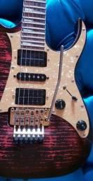 Guitarra Ibanez ,Dimarzio Evolution+Fender push pull +Ponte Gotoh