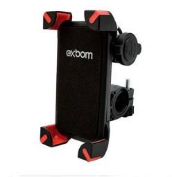 Suporte Celular para Moto com USB | Exbom