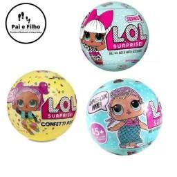 Promoção Bolas da Bonecas Lol Surpresas, cada cor é uma supresa!