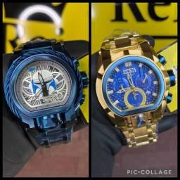 Título do anúncio: Invicta Magnum Bolt cor azul banhado