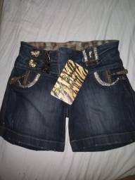 Shorts novos com etiquetas