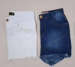 Saias Jeans Conservadas