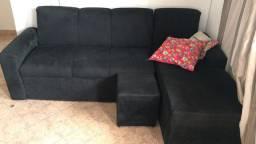Sofá quarda-roupa e painel de tv