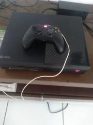 Xbox one com 3 jogos media física