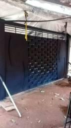 Serralheiro faço portões basculante
