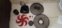 Capas plástico ventilador