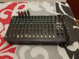 Mesa de som Wattson MXS 12 canais.