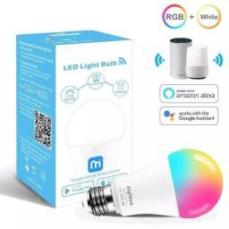 Lâmpada inteligente RGB 15w - Compatível: Alexa e Google home