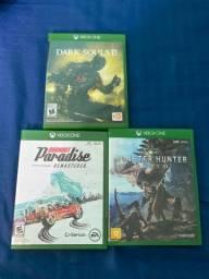 Troco jogos de Xbox one