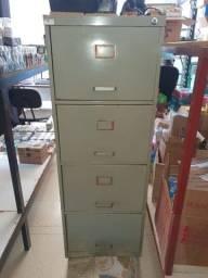 arquivo de aço 4 gavetas usado