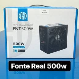 Fonte Real Hoopson 500w Fnt-500w