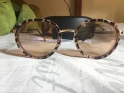 Óculos de sol lente espelhada