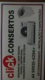 Manutenção e instalação de lavadoras de roupas e ar condicionado