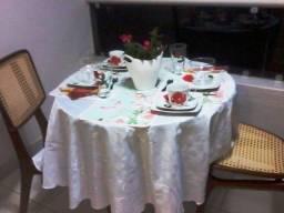 Aparelho de chá e de jantar porcelana Casa Amiga, decorado