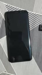 Galaxy S8 Plus 64GB Preto em Bom Estado