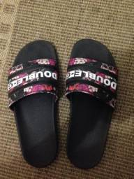 Chinelo slide Double-G