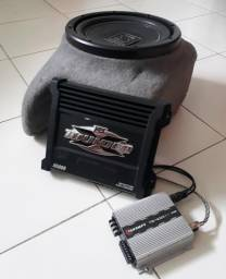 Alto falante + Módulo Amplificador