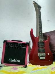Kit Guitarra + Amplificador