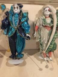 Casal Pierrot e Colombina