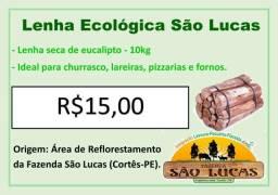 Lenha de eucalipto 10kg
