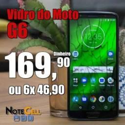 Vidro do Moto G6 Instalado!