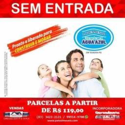 Terreno à venda, 180 m² por R$ 14.280 - Água Azul - Teixeira/Paraíba