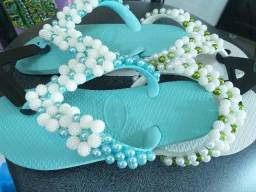 Havaianas customizadas para presentear ou uso próprio!