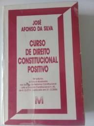 Livro de Direito, Curso de Direito Constitucional Positivo, 24º edição. Itajaí